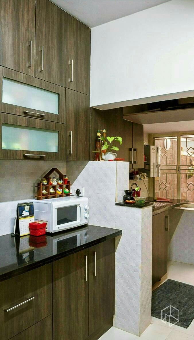 Kitchen cabinet doors in bangalore first time in india architect - Shink Should Be Out Cut