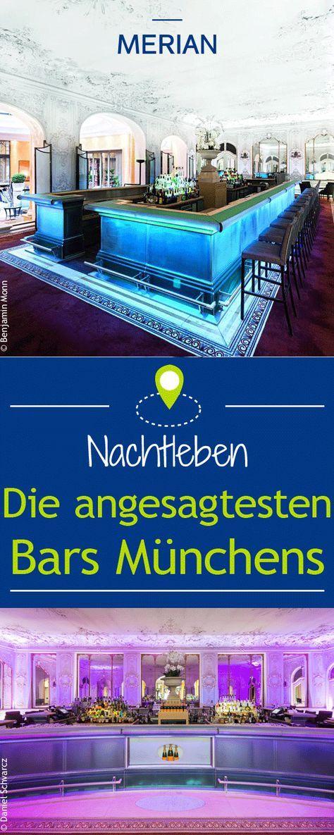 Wo ihr in München das Nachtleben am besten genießen könnt und die Nacht zum Tag macht, das verraten wir euch hier: Die angesagtesten Bars Münchens!