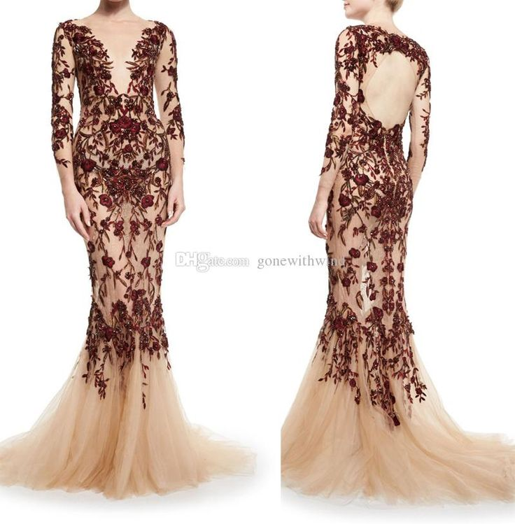 Zuhair Murad Prom Dresses 2017 Lace Appliques Beaded Sheer Overlay Cocktail Party Dresses Sweetheart High Low Prom Gowns Cheap Red Prom Dresses Cheap White Prom Dresses From Gonewithwind, $301.51| Dhgate.Com