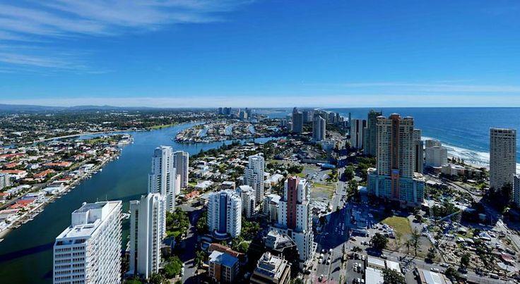 HOTEL|オーストラリア・ゴールドコーストのホテル>ゴールドコーストの内陸部の景色を望めます>ザ タワーズ オブ シェブロン ルネッサンス(The Towers Of Chevron Renaissance)