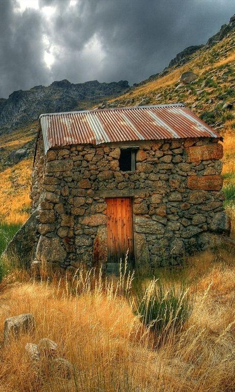 Small Stone Barn, Ireland.