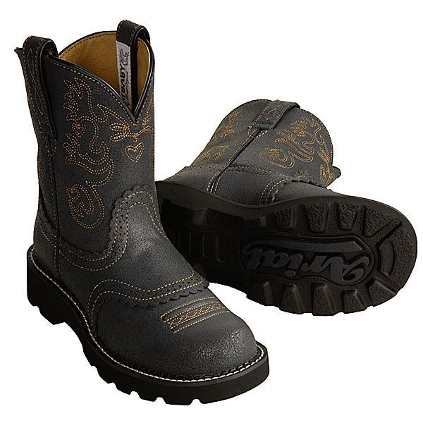 Ariat Fatbaby Boots (For Women) under $40! I think I want black ones too!
