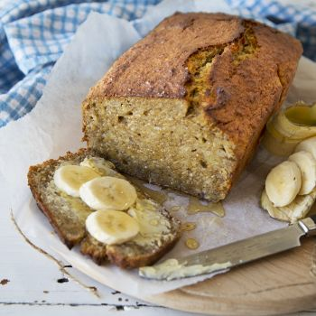 Gluten-Free Banana, Coconut and Lemon Loaf