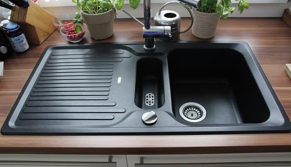 Granitspule Reinigen Pflegen So Wird Die Blanco Silgranit Spule Sauber Kuche Aufbewahrung Ideen Reinigen Blanco Spule