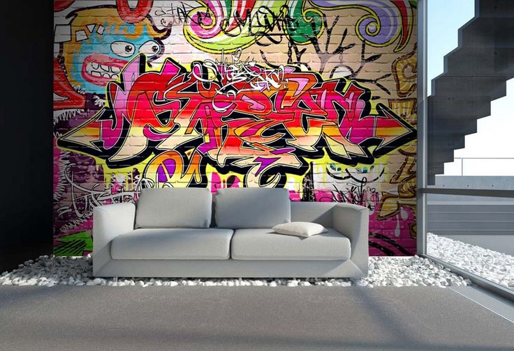 17 best images about graffiti wand on pinterest. Black Bedroom Furniture Sets. Home Design Ideas