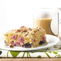 Buttermilk Coffee Cake from better homes and gardens. I make this when ...