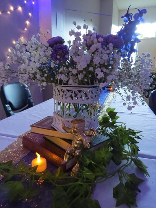 Table centre for wedding, engagement, 31st birthday