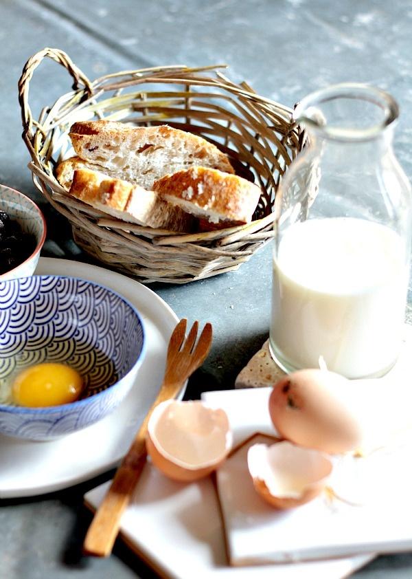 Les Cuisines de Garance: Pain perdu aux Myrtilles { en attendant le printemps }