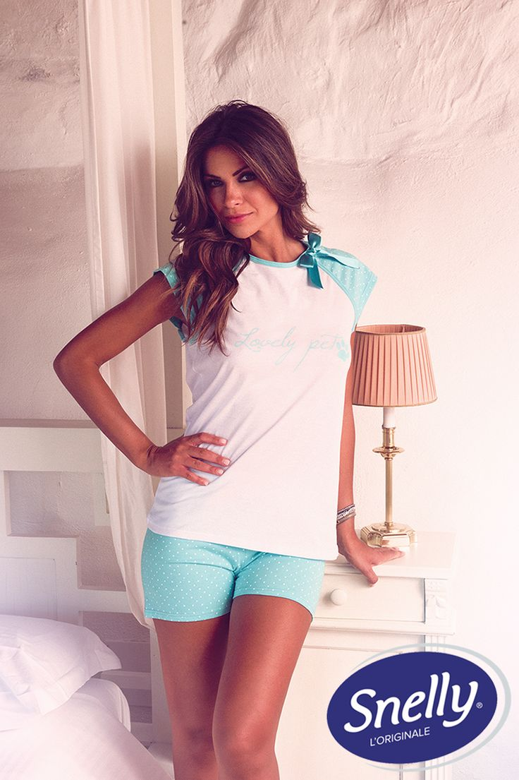 '#Lovely #Pet' Snelly Intimo #Spring #Summer Collection with Alessia Ventura. #outfit #night #pijamas