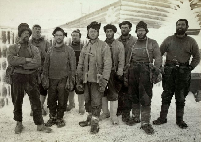 Robert Falcon Scott's Journey to the South Pole