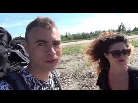 Wyprawa na wyspę sobieszewską - Dominik & Milita Nikonorov