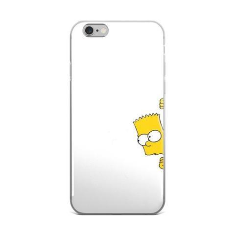 Bart Simpson White iPhone 4 4s 5 5s 5C 6 6s 6 Plus 6s Plus 7 & 7 Plus Case - JAKKOUTTHEBXX - Bart Simpson White iPhone 4 4s 5 5s 5C 6 6s 6 Plus 6s Plus 7 & 7 Plus Case - JAKKOU††HEBXX - JAKKOUTTHEBXX