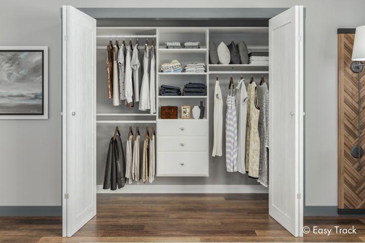 Closet Organizers   Custom Closet Systems By Easy Track