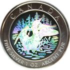 2002 Canada 1 oz Silver Hologram Anniversary Loon - With Box & COA http://www.gainesvillecoins.com/category/525/olympic-silver-coins.aspx