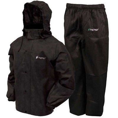 Jacket and Pants Sets 179981: Frogg Toggs All Sport Suit Large Black As1310-01Lg -> BUY IT NOW ONLY: $39.95 on eBay!