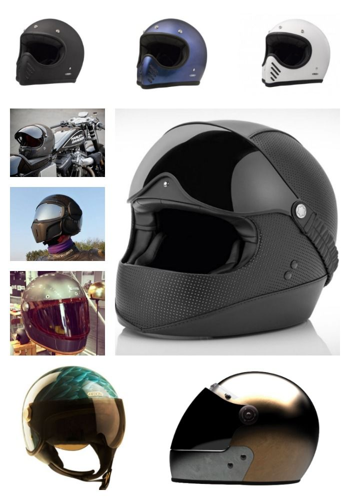 8 Boutique Motorcycle Helmet Brands (that you probably have never heard of before now)