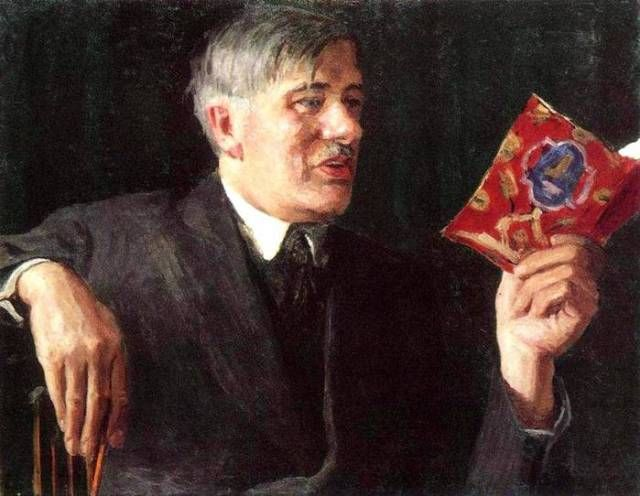 Портрет Корнея Чуковского работы Игоря Грабаря