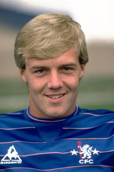 August 1983: KERRY DIXON of CHELSEA