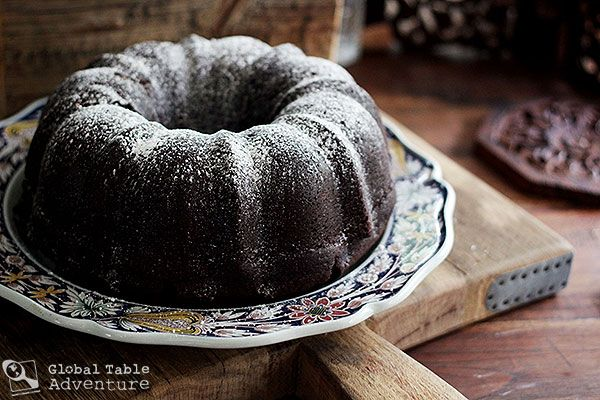 Latin inspired cake called Midnight Mocha Rum Cake. Yes, I said RUM. I ...