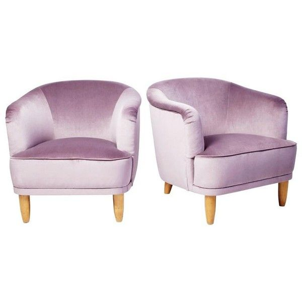 Preowned Pair Of Swedish Moderne Lounge Chairs   8 800    liked on Polyvore  featuring home   Second Hand FurnitureFurniture. Best 25  Second hand chairs ideas on Pinterest   Second hand