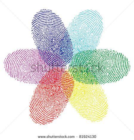 2b6dea7ee color fingerprint flower vector | Tattoo Ideas | Reputation management,  Social media engagement und Facebook marketing