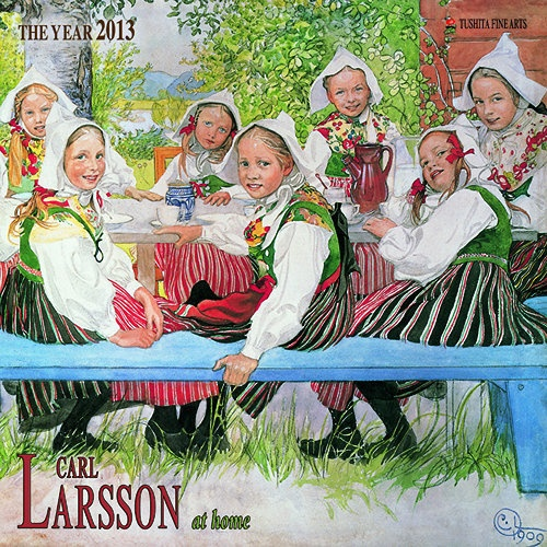 Carl Larsson at Home Wall Calendar: This wall calendar for 2013 features a dozen paintings of Swedish domestic life by Carl Larsson.  $13.95  http://www.calendars.com/Impressionism/Carl-Larsson-at-Home-2013-Wall-Calendar/prod201300006580/?categoryId=cat00013=cat00013#