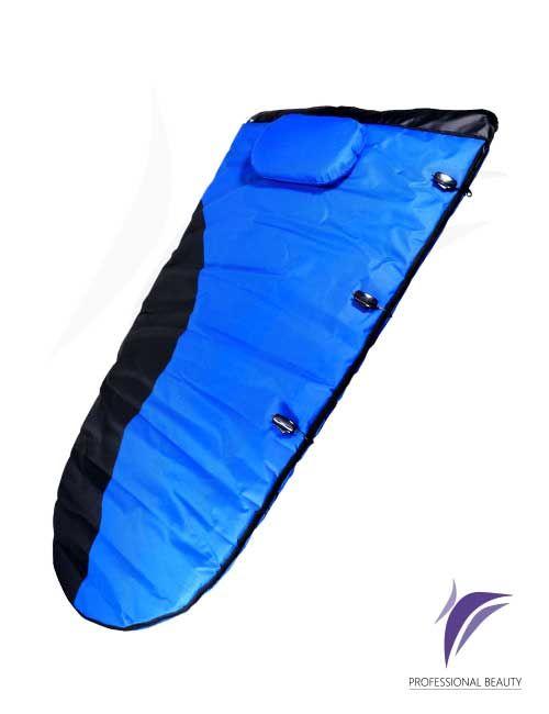 Sleeping Termoband Con Vibración: Diseñado para aumentar la sudoración de la piel permitiendo la penetración de productos y la reducción de medidas.