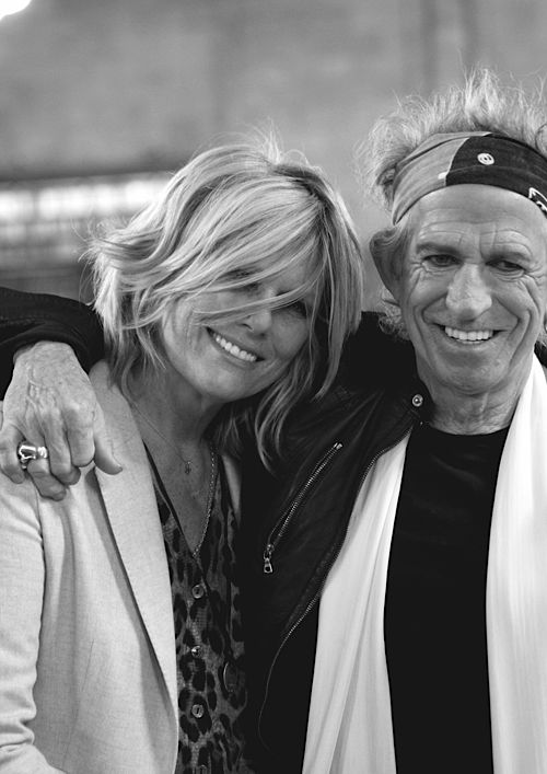 keith richards and patti hansen photos - Google Search
