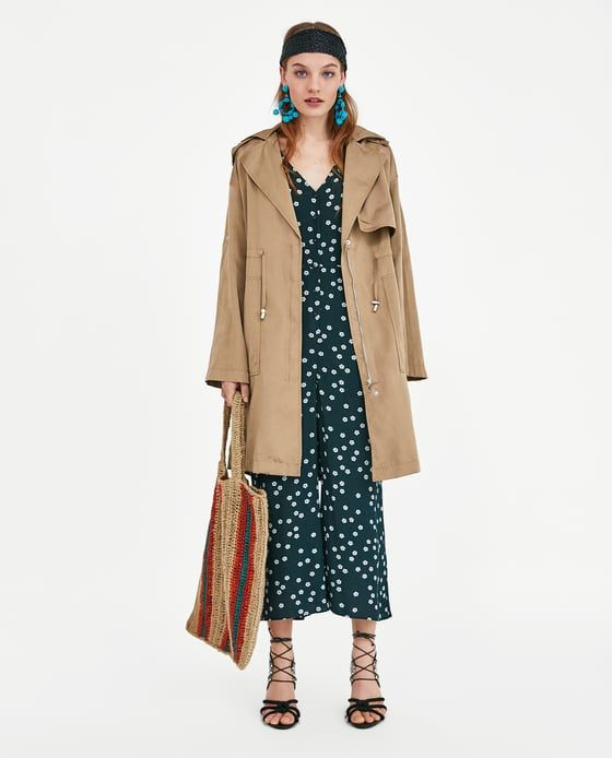 ZARA - WOMAN - FLOWING PARKA