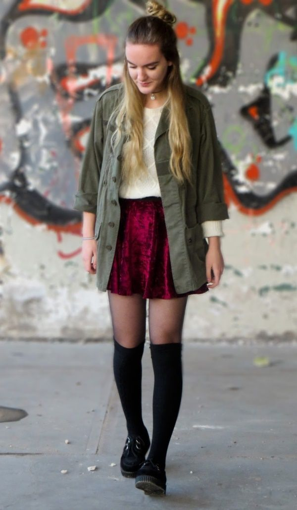 best 25 knee high socks outfit ideas on pinterest thigh