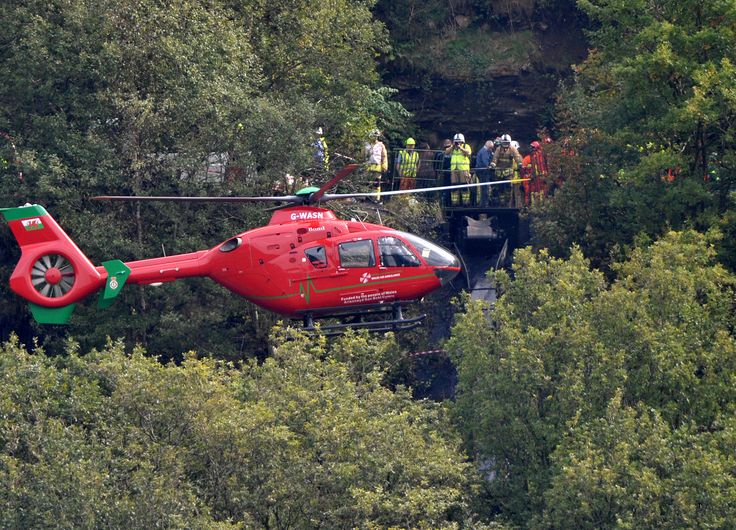 (1) At 9.20am on Thursday, September 15, emergency services are called to the Gleision colliery in the Swansea Valley. Seven men were working 300ft underground when the small drift mine was engulfed by flood water. Three men managed to scramble to safety - their four colleagues are trapped.