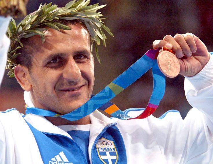 Athens 2004, bronze medal in wrestling. Artiom Kiouregkian