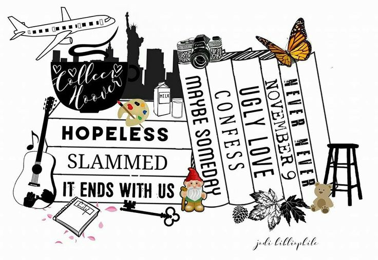 Colleen Hoover Books, My Fav Author ♡