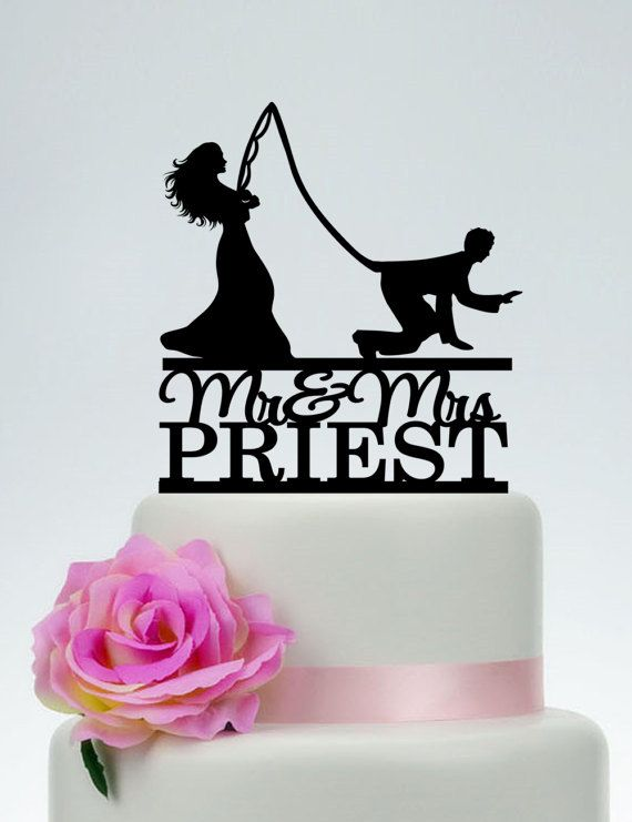 Funny Cake Topper,Custom Fishing Cake Topper,Mr and Mrs Cake Topper With Last Name, Outdoor Wedding Cake Topper, Gone Fishing Wedding C176 Hi dear, Thank you so much for visiting my shop! I make cake topper for weddings, birthday, anniversary and all events. If you have any questions or needs just feel free to tell me. I will try my best to meet your needs. ************ABOUT THE CAKE TOPPER************ • Each topper is laser cut from 1/8 inch thick acrylic • Width : 5-7 Side to side ...