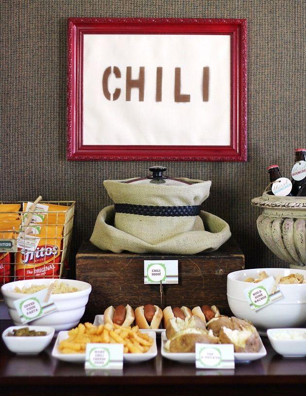 Chili Bar So cute or football season