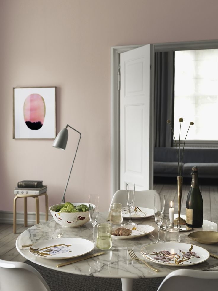 Bring nature to the table, modern and classic dinner service - Flora.