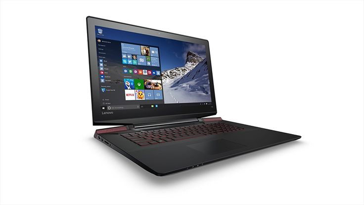 "PC Lenovo Ideapad Y700-17ISK - Ordinateur Portable Gamer FHD 17"" Noir métallisé (Intel Core i7, RAM 8Go, Disque dur 1To   128Go SSD, Nvidia GeForce GTX 960M, Wi"