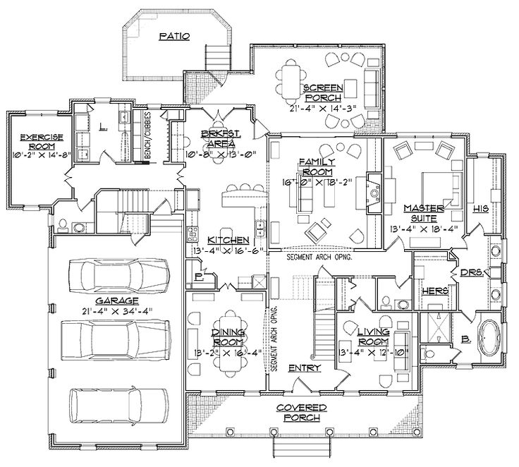36 best house plans images on pinterest house floor for House plans with mudrooms