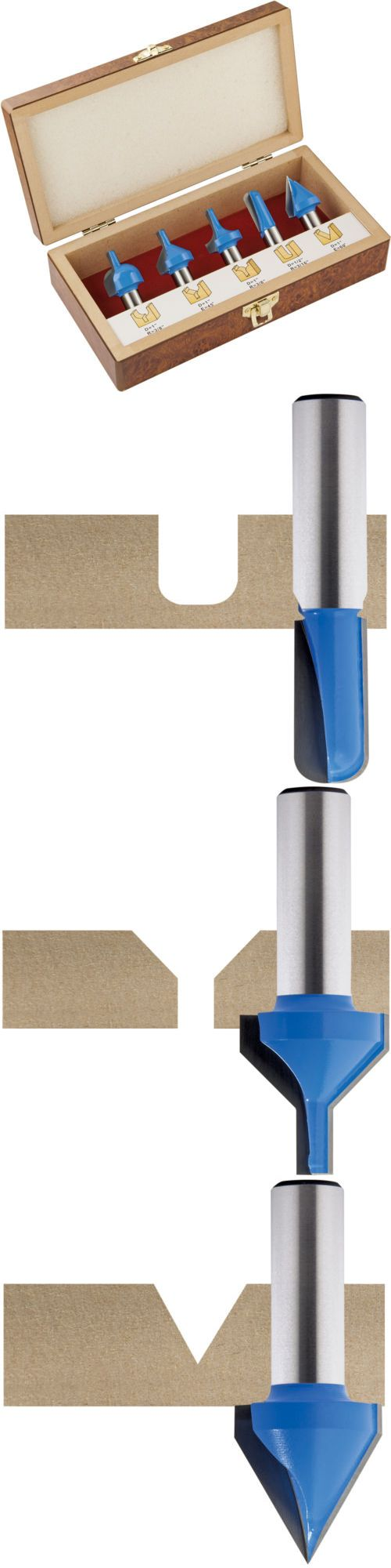 Router Bits 177001: Rockler 5-Piece Cnc Router Bit Set -> BUY IT NOW ONLY: $199.99 on eBay!