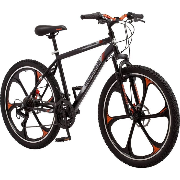 "New 26"" Mens Mongoose Mack Mag Wheel Bike Mountain Bike Bicycle 21 Speed Cycling #Mongoose"