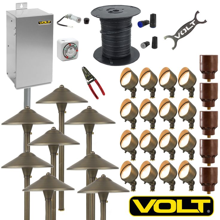 enter to win the most led landscape lighting kit from volt lighting - Volt Landscape Lighting