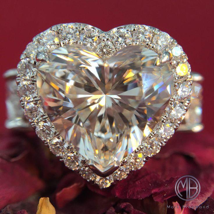 Stunning 4.00ct Heart Shaped Diamond Ring