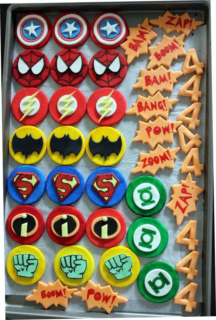 Leelabean Cakes: Superhero Birthday Party!