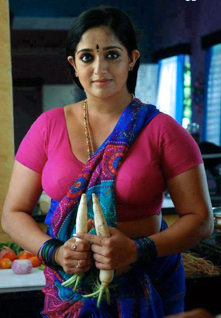 Beauty Galore Hd Kavya Madhavan Hot Photos Round Boobs In Tight Blo