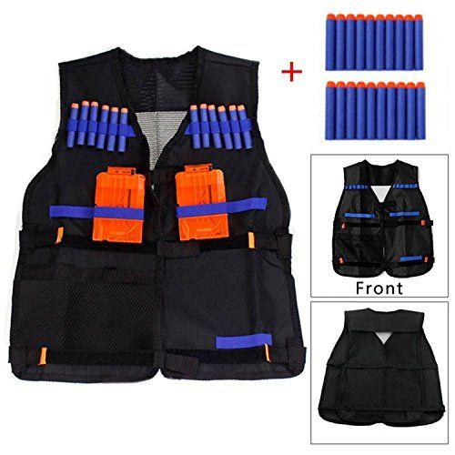 Yosoo Kids Elite Tactical Vest with 20pcs Soft Foam Darts... https://www.amazon.co.uk/dp/B01D9KNCNE/ref=cm_sw_r_pi_dp_PBtCxbJEAHCBS