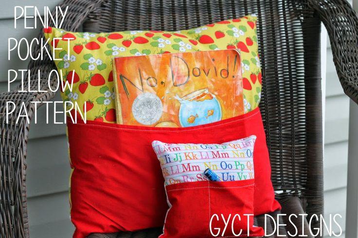 FREE Penny Pocket Pillow Pattern at GYCT