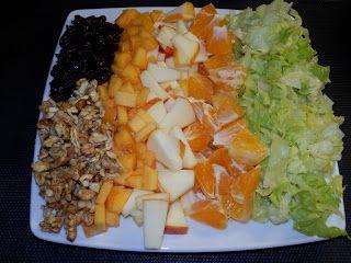 MAKE-FOOD: Ovocný salát plný vitamínů