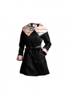 cheap burberry outlet online ieuj  Burberry Black Coats 2006c