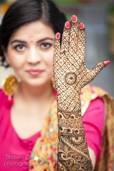 Mehendi Designs - Jaal Hand Mehendi Design | WedMeGood #wedmegood #jaal #mehendi…