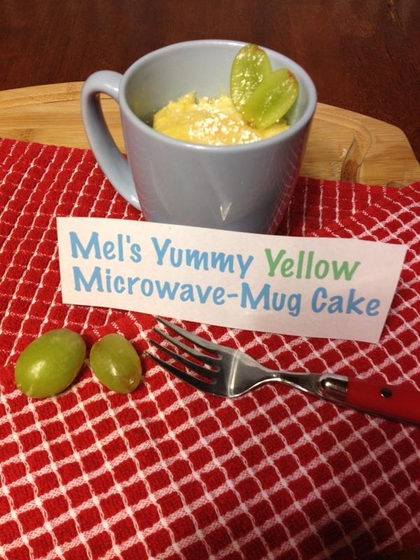 Yellow Cake In A Mug Microwave Recipe